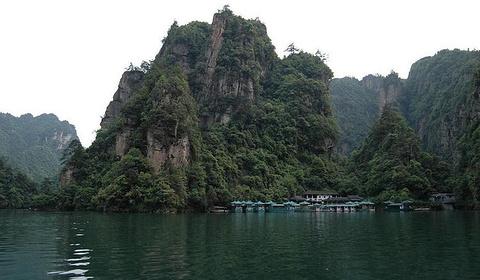 宝峰湖旅游景点攻略图
