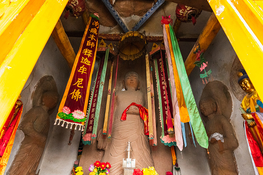 马蹄寺千佛洞旅游景点图片