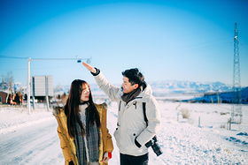 【圣诞】跨越3400公里,在新疆谱一曲浪漫的冬季恋歌