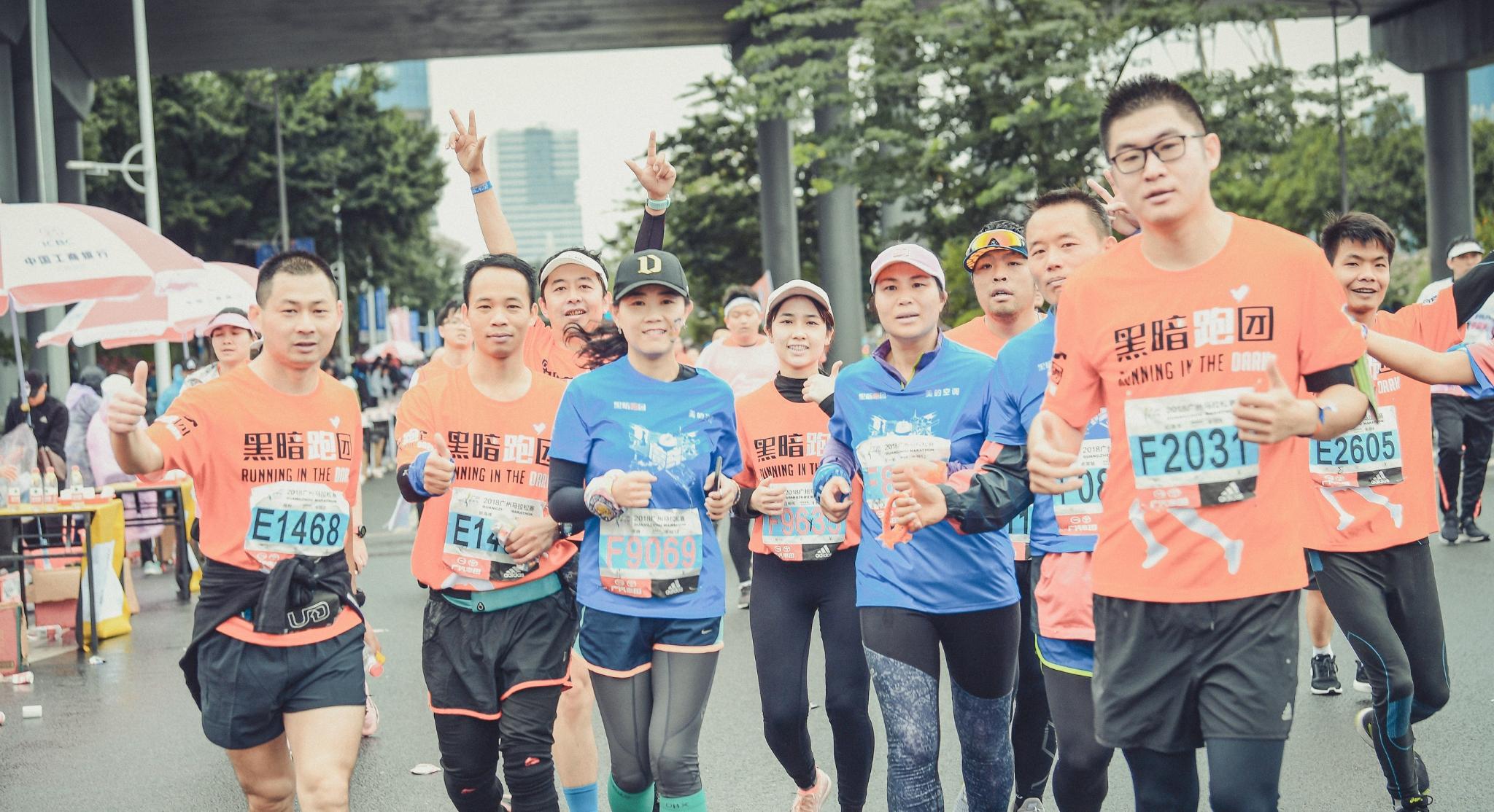 一场马拉松,遇见你遇见广州的日与夜