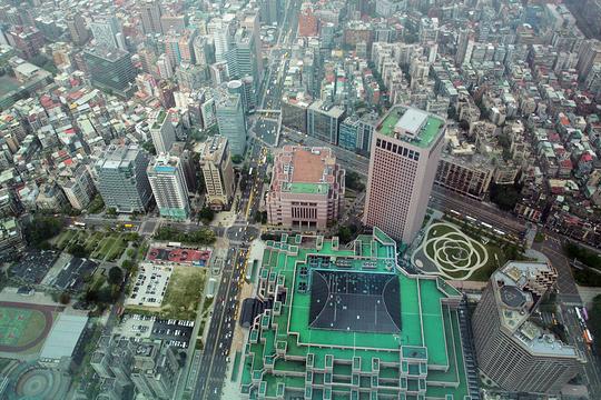 台北101景观台旅游景点图片