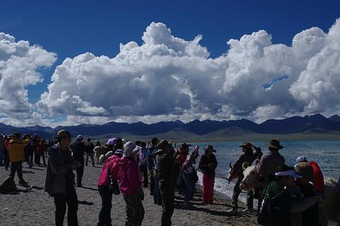 纳木措国家公园旅游景点攻略图