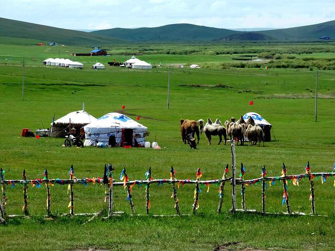 草原蓝天舞蹈_蒙古汉子带你玩转内蒙古,玩转呼和浩特,经典草原沙漠5日游 ...