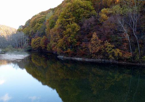 冰湖沟风景区旅游景点图片