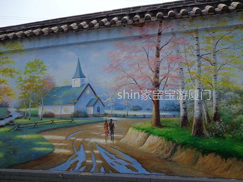 乌石浦油画村旅游景点攻略图