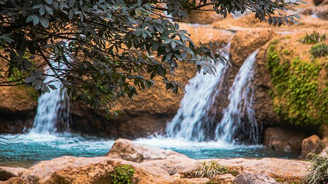 拉雅瀑布旅游景点图片
