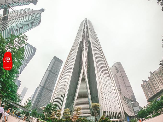 深圳平安金融中心云际观光层图片
