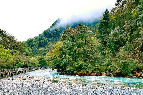 二郎山喇叭河风景区旅游景点攻略图