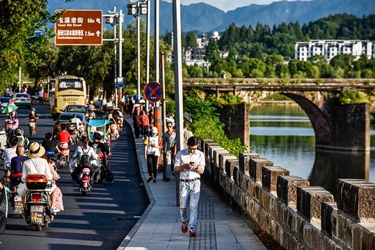 屯溪老大桥旅游景点图片