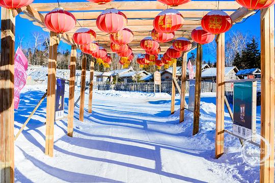 亚雪驿站十里画廊旅游景点图片