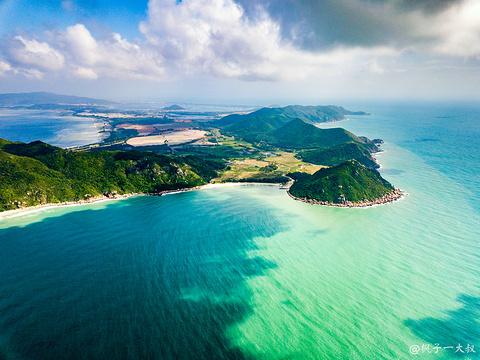 呆呆岛旅游景点攻略图