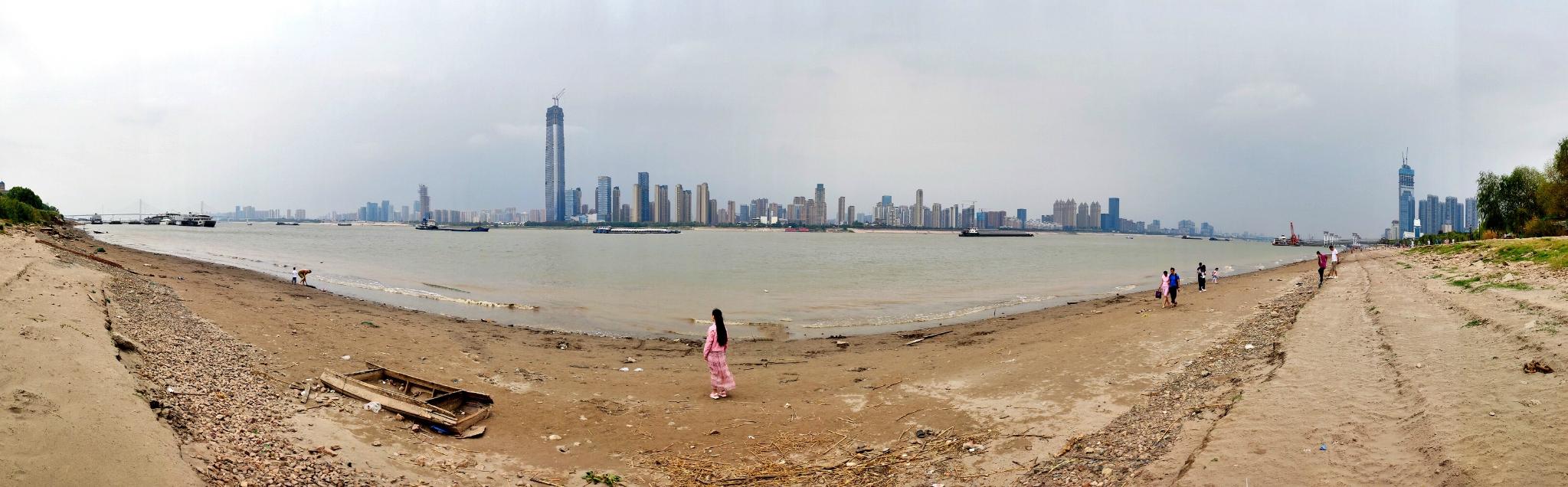 武汉,一座被樱花湮没的江城