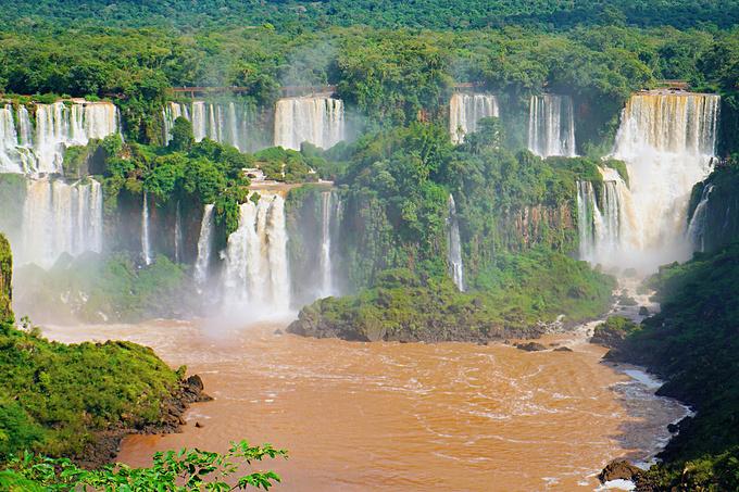 伊瓜苏大瀑布图片