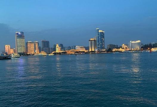 鹭江夜游旅游景点图片