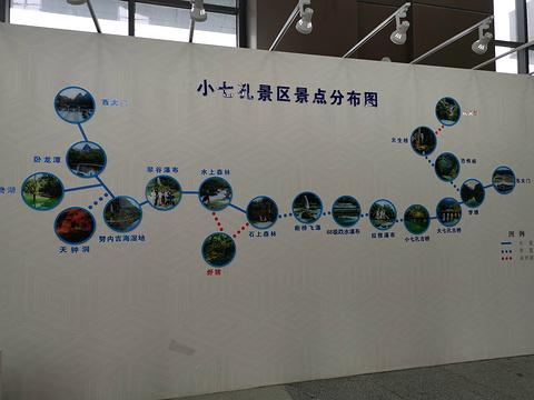 荔波小七孔景区旅游景点攻略图