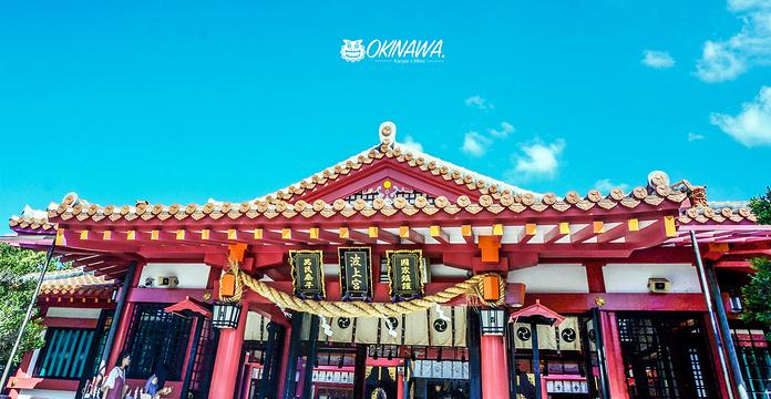 波上宫旅游景点图片