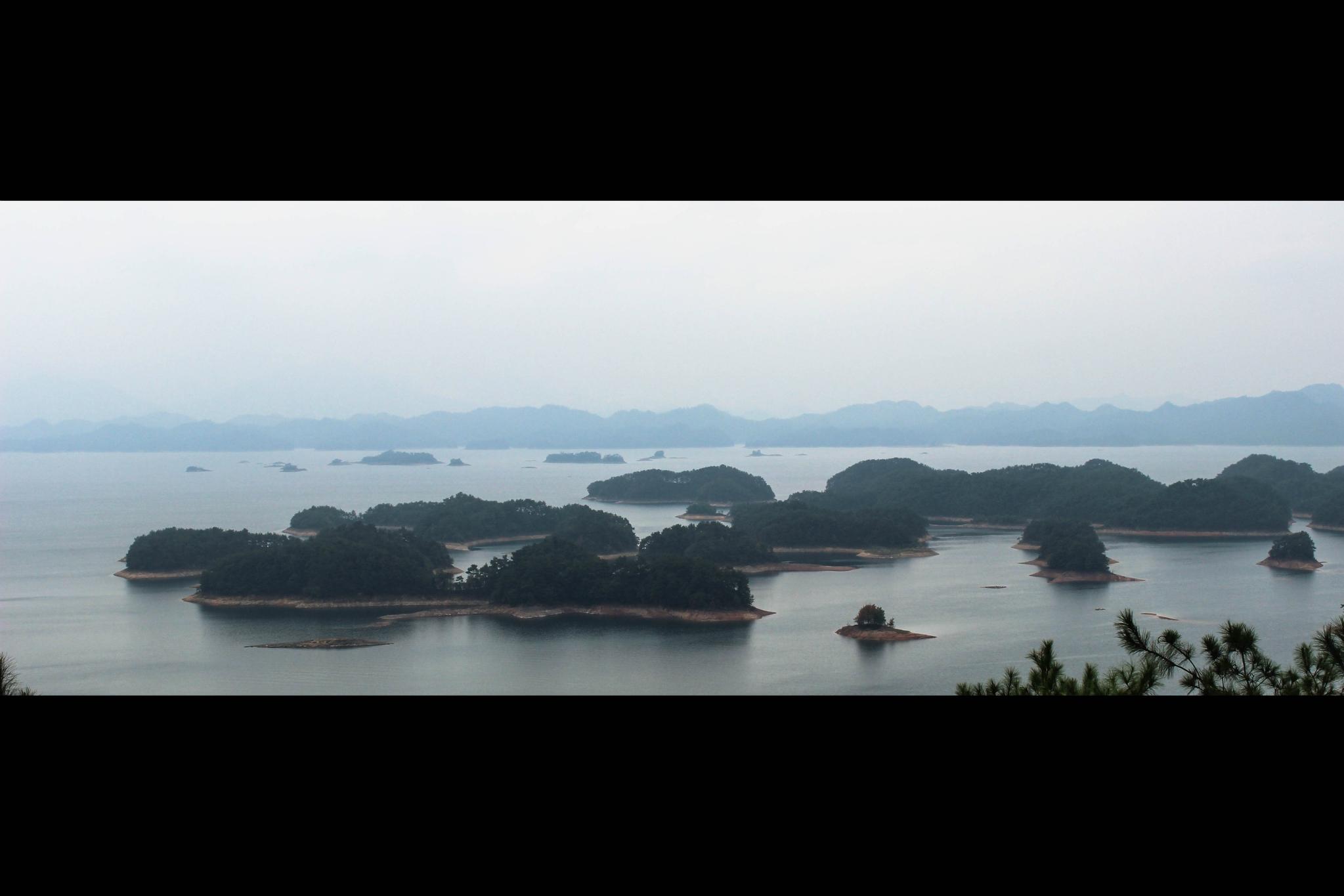 烟雨朦胧的千岛湖,小记两天一夜逃离城市的散心之游