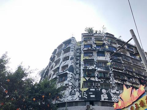 涂鸦一条街旅游景点攻略图