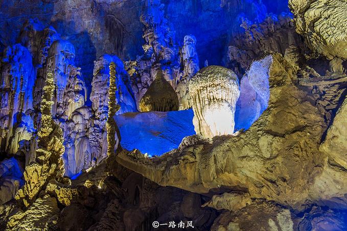 美哉!世界地质公园-毕节织金洞!