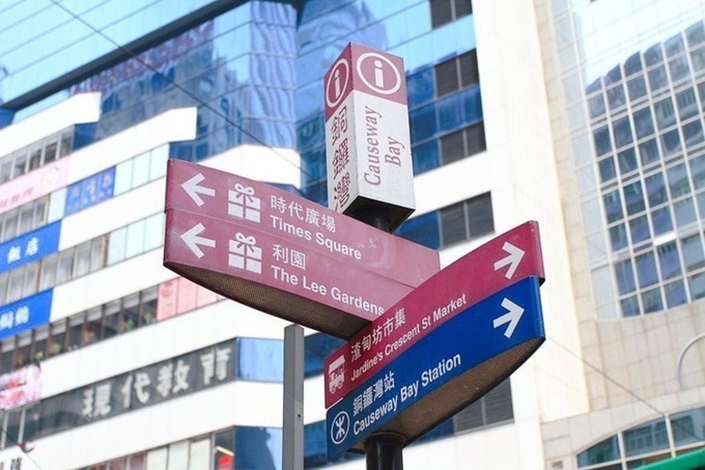 香港迪士尼乐园旅游导图