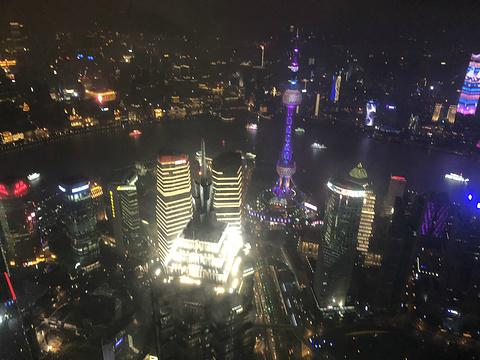 上海环球金融中心观光天阁旅游景点攻略图