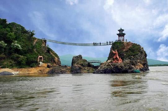 同江街津口赫哲族旅游度假区旅游景点图片