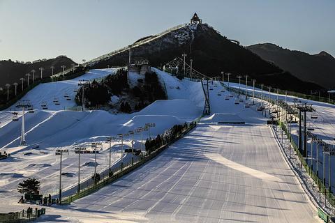 南山滑雪场旅游景点攻略图