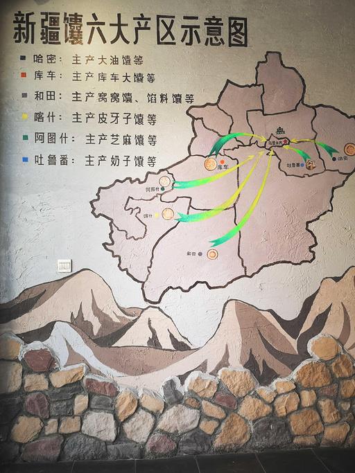 新疆国际大巴扎旅游导图