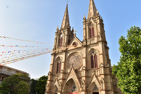 石室圣心大教堂旅游景点攻略图