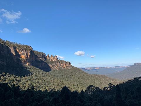 蓝山国家公园旅游景点攻略图