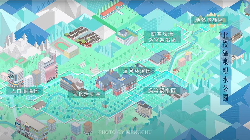 北投图书馆旅游导图