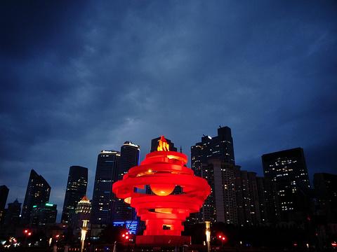 五四广场旅游景点图片