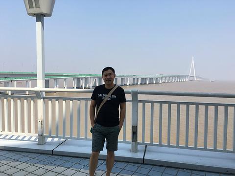 杭州湾大桥海天一洲观光平台旅游景点攻略图
