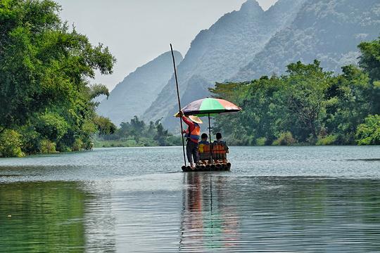 遇龙河漂流旅游景点图片