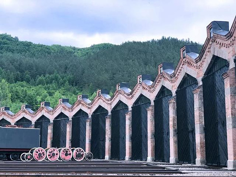 横道河子俄罗斯风情小镇风景区旅游景点攻略图