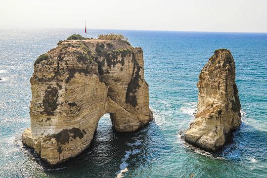 鸽子岩旅游景点图片