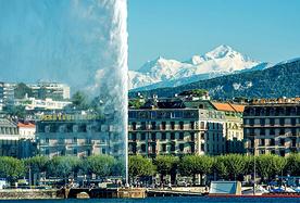 看得见勃朗峰的优雅都市-日内瓦