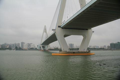 海口世纪大桥旅游景点攻略图