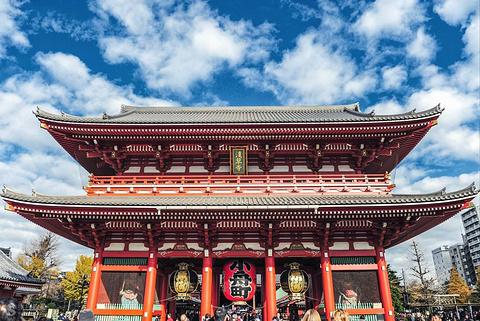 浅草神社旅游景点攻略图
