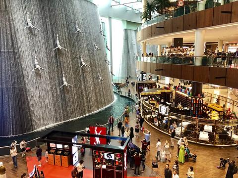 迪拜购物中心旅游景点图片