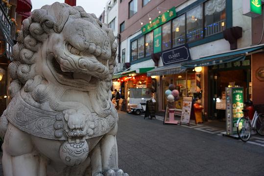 神户中华街旅游景点图片