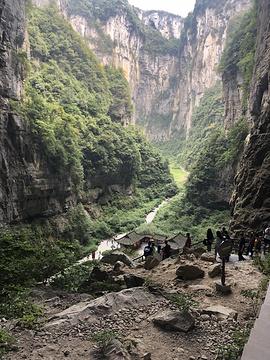 武隆天坑地缝国家地质公园旅游景点攻略图