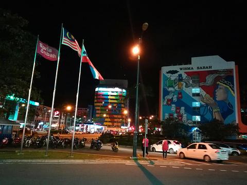 亚庇曙光广场旅游景点攻略图