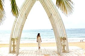 春天的海南岛,平静后迎来艳阳天,去猴岛嬉戏,呆呆岛发呆
