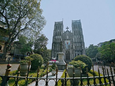 河内大教堂旅游景点图片