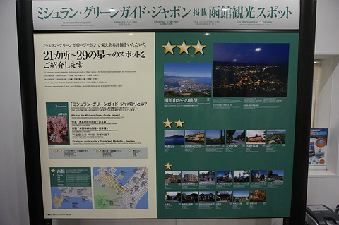 函馆山旅游景点攻略图