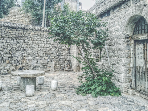 石头村旅游景点图片