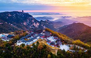 沂蒙山上的摄影纪实,深秋走进五彩斑斓的世界