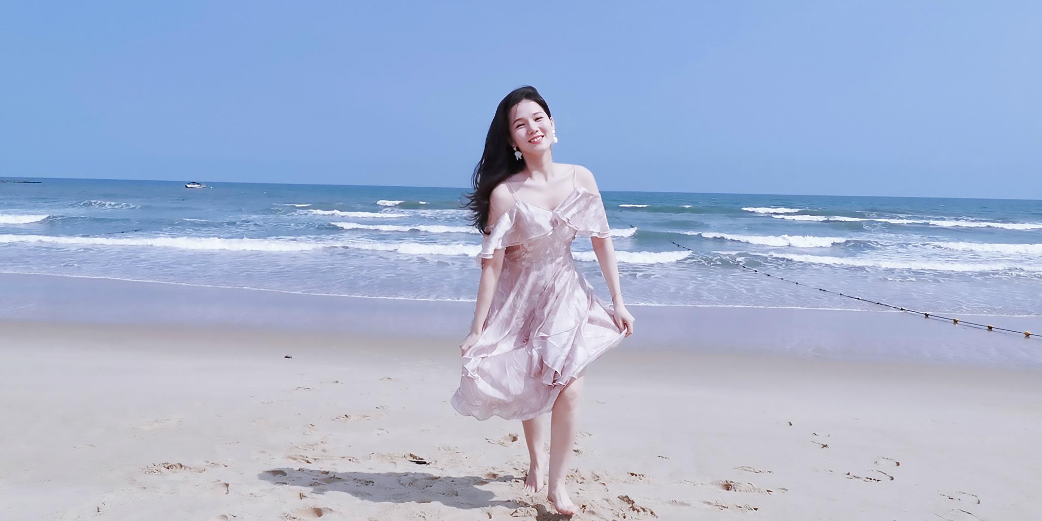 干货!这片海滩是广东之最,方圆1公里够你玩三天!来海之冠你会爱上一夜qing