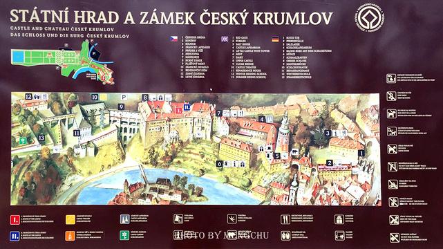 克鲁姆洛夫城堡旅游景点图片